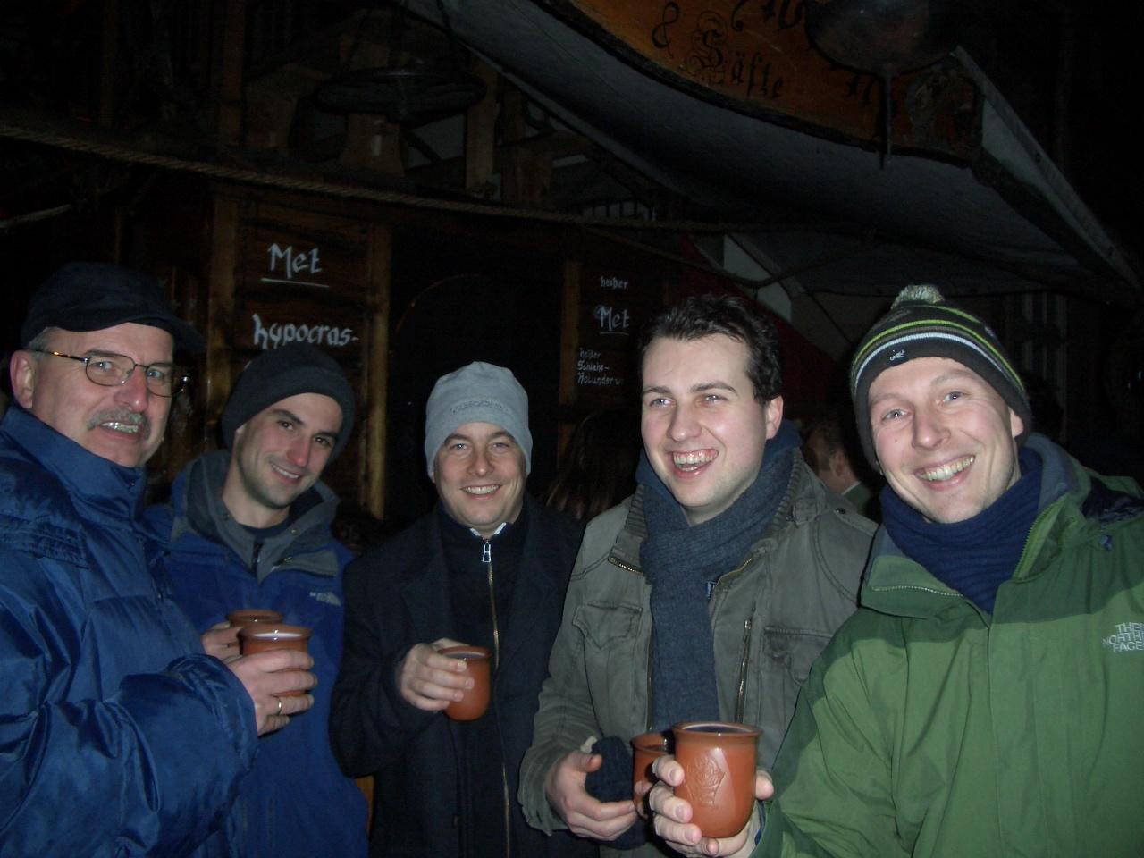 Vorrundenabschluss auf dem Esslinger Weihnachtsmarkt