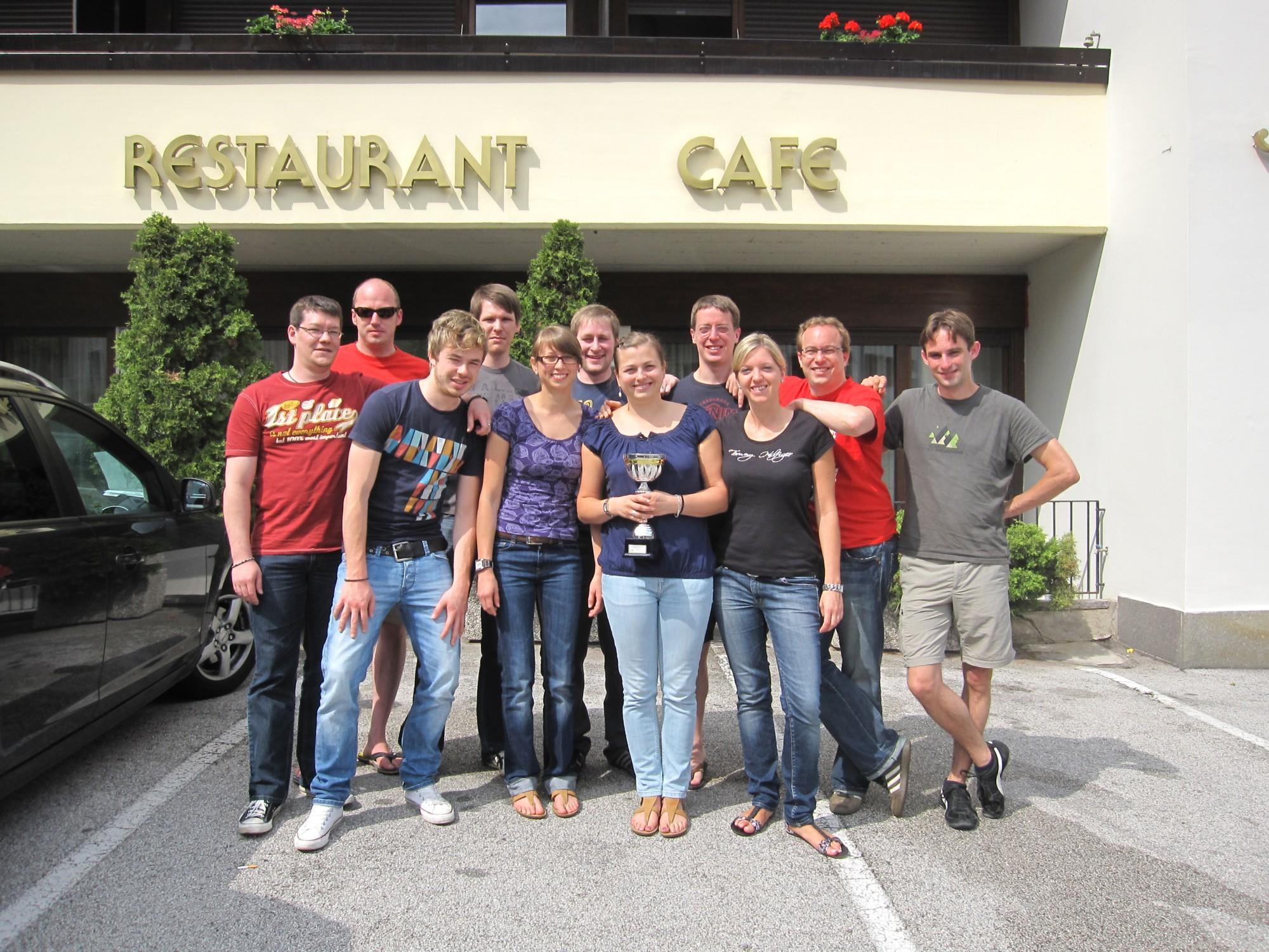TTF beim Schwarzenbachcup in Südtirol