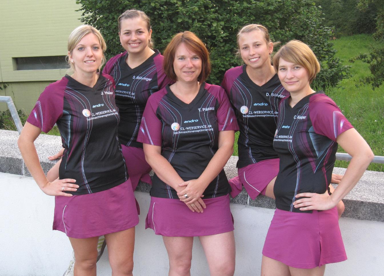 Die TTF-Damen überwintern trotz Niederlage als Tabellenführer
