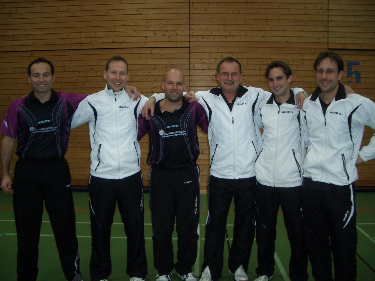 Die Hinrunde der TT-Saison 2011/2012 endet für die Herren I mit einer Niederlage