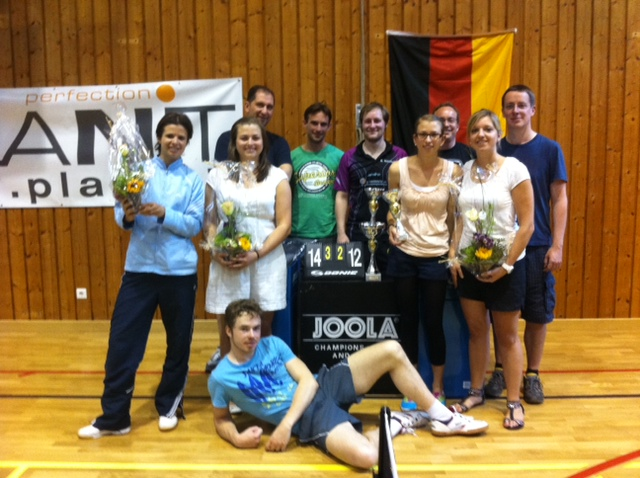 Erfolgreiche TTF-Teams in Auer 2012