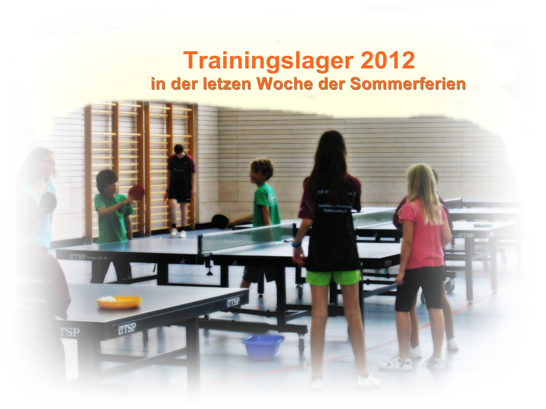 Trainingslager der Jugend