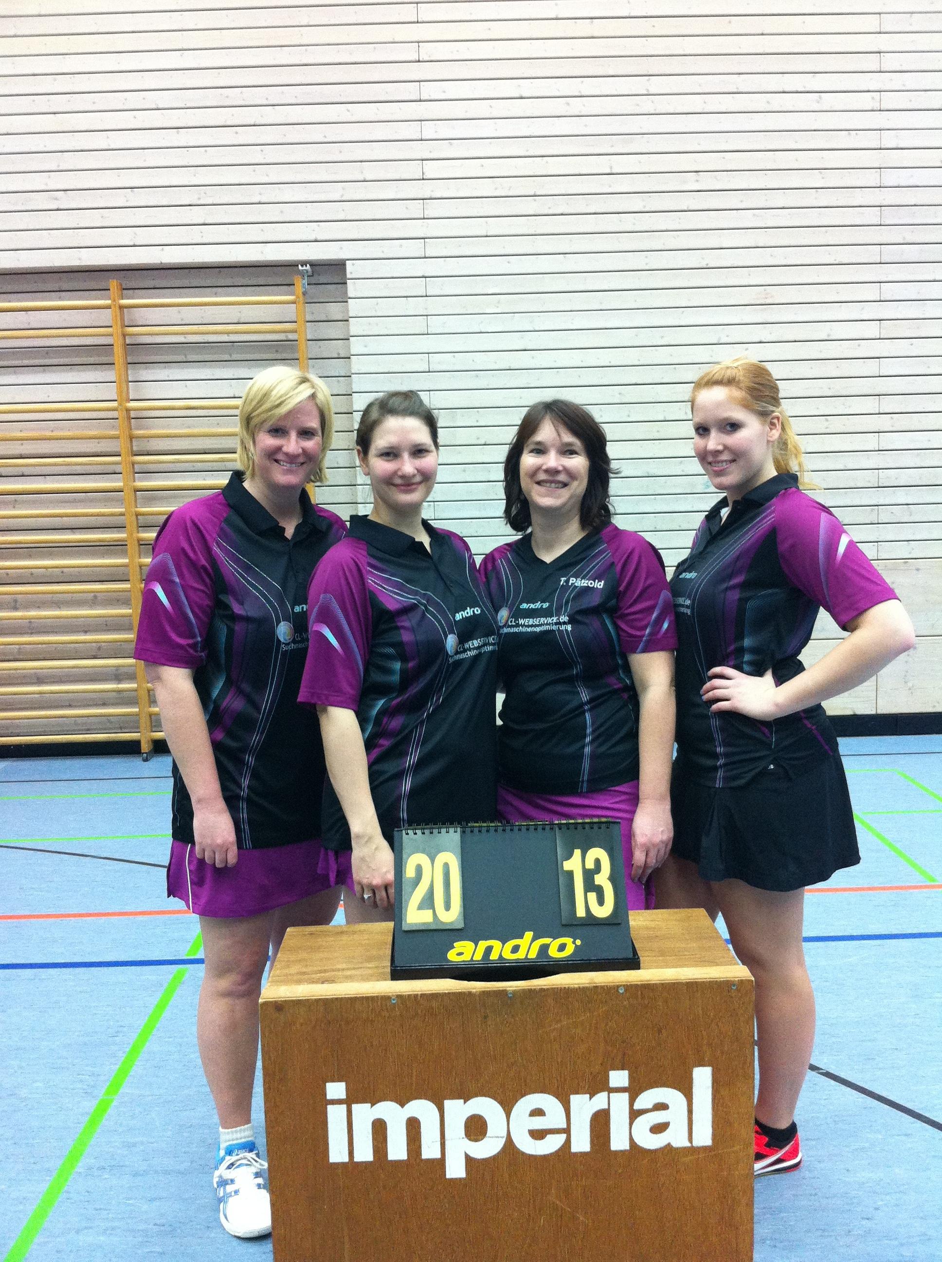 Damen II krönen Saison mit Meisterschaft