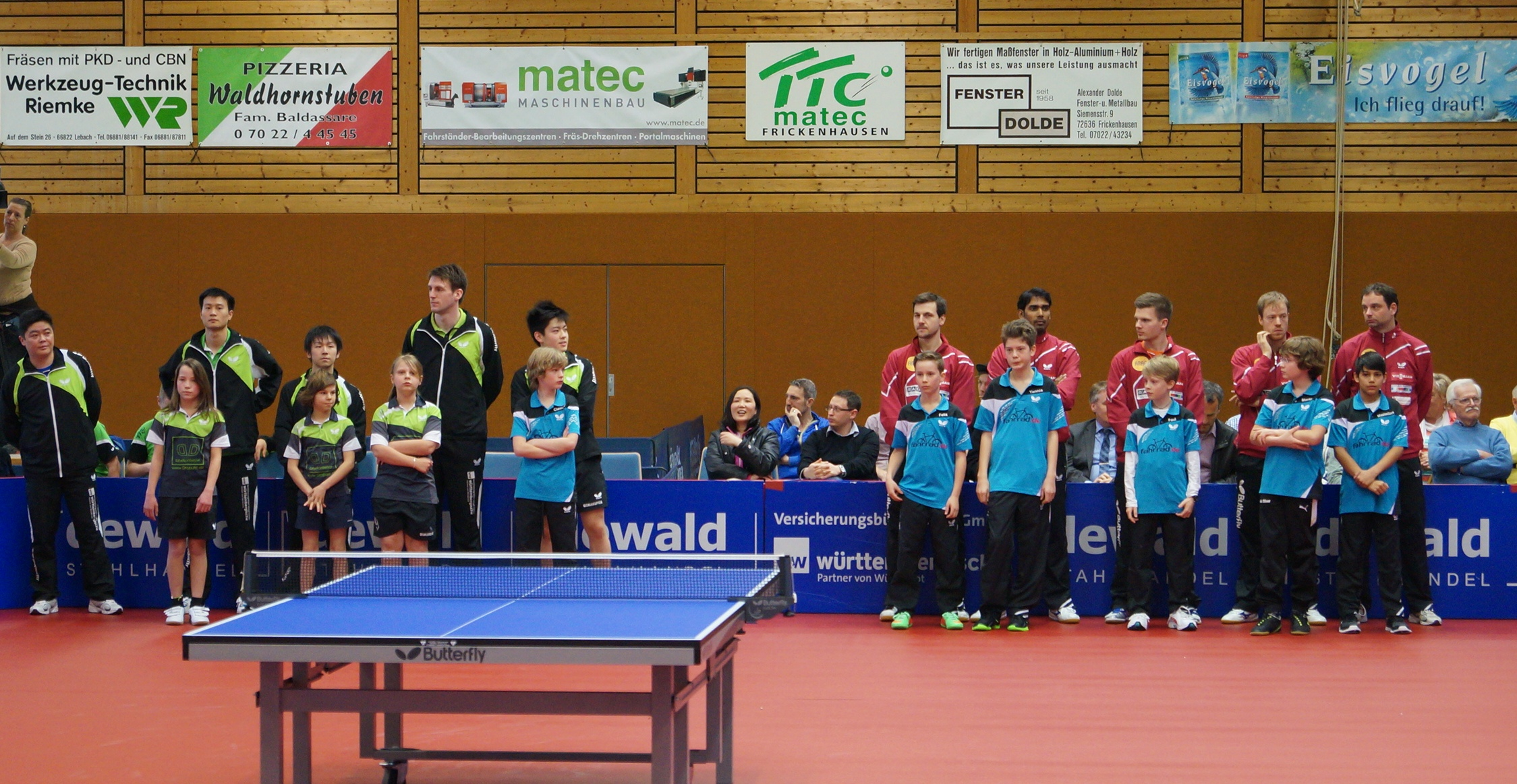 Besuch beim Buli-Spiel Frickenhausen-Düsseldorf