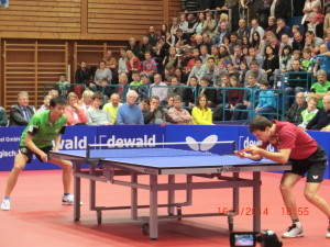 Timo Boll vs. Wang
