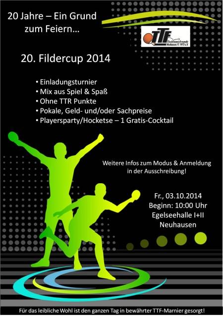 Fildercup 2014 am Tag der Deutschen Einheit