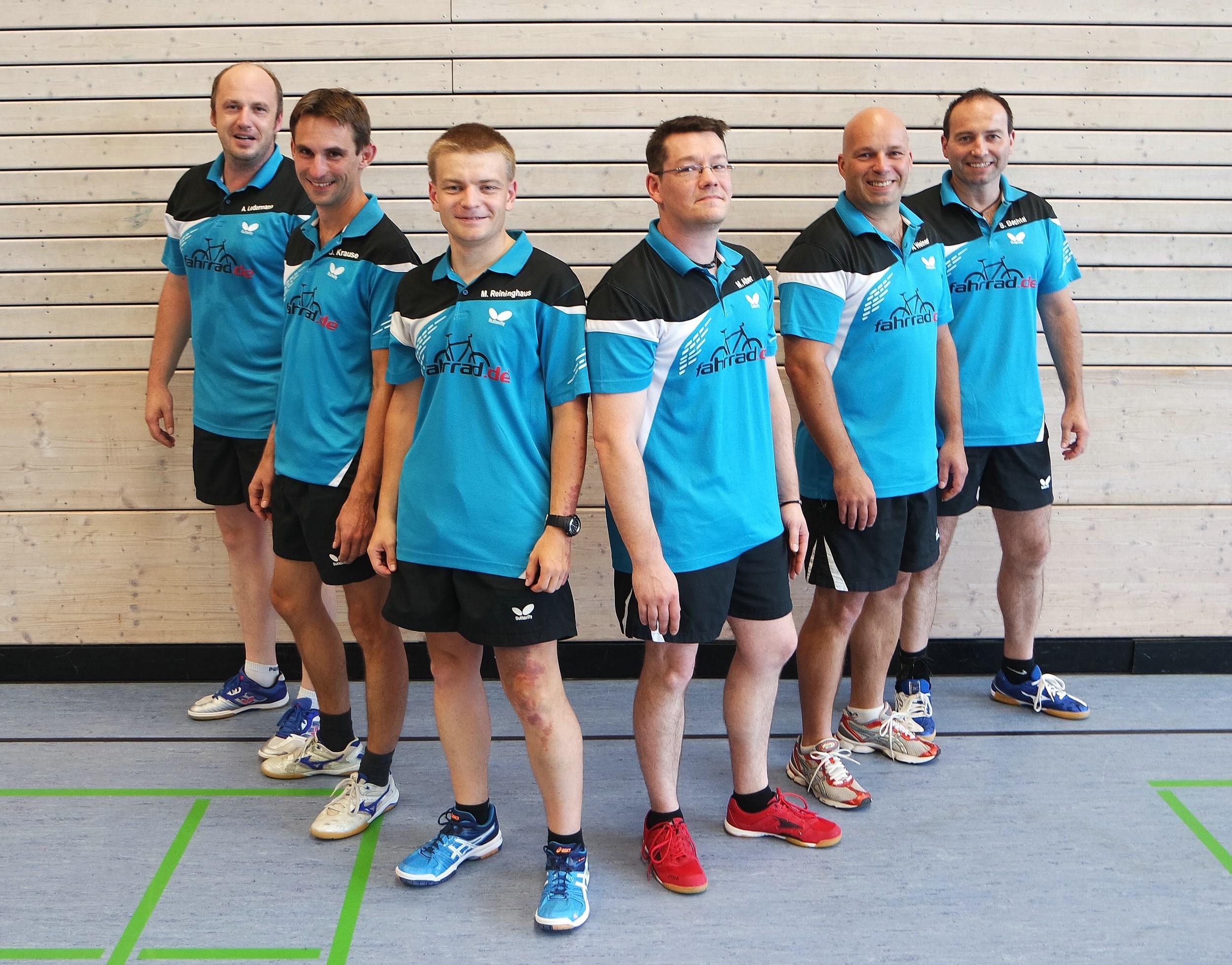 Saisonvorschau 2015/16 – TTF Herren 1