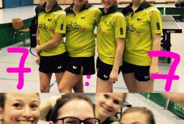 Überaschendes, aber verdientes Unentschieden für die Damen I gegen den Tabellenführer aus Beinstein