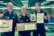 TTF INSIDE KW16: Senioren 40 starker Zweiter bei Württ. Meisterschaften