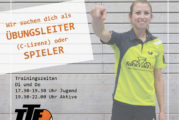 TTF WANTS YOU – TRAINER/ÜBUNGSLEITER MIT C-LIZENZ GESUCHT