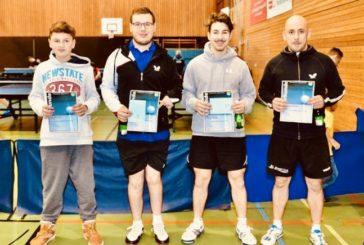 TTF INSIDE KW3: Herren I scheitern frühzeitig im Supercup, U18 mit 3 Punkten, Andi Sommer gewinnt in Kirchheim