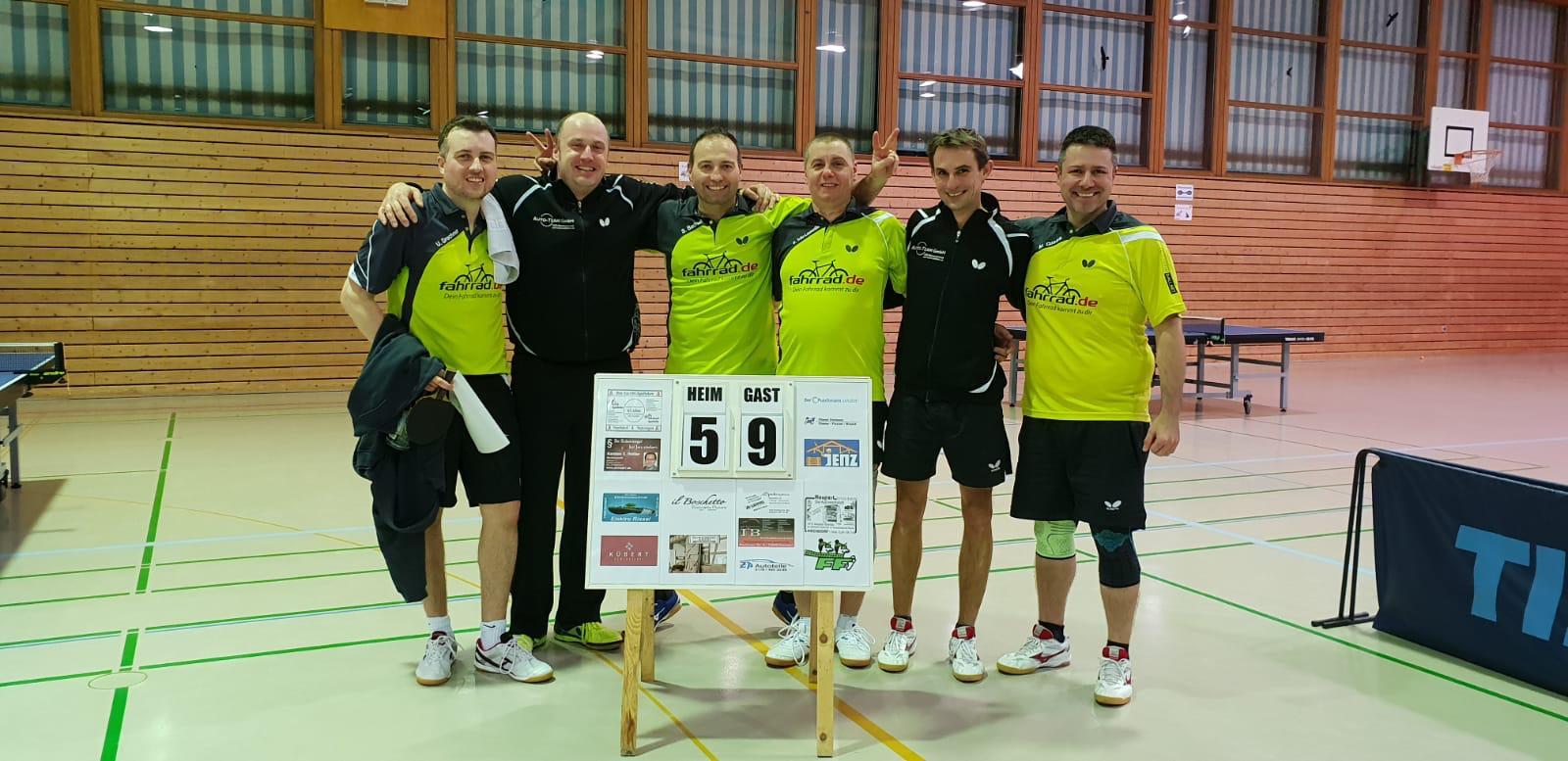 TTF Inside KW 5: Herren I feiern Sieg in Hochdorf; Damen I punkten weiter und sichern erfolgreichen Rückrundenstart