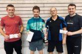 TTF INSIDE KW40: Felix Necker zum 3.Mal Vereinsmeister – Yannis Kaczmarek verteidigt Herren B-Titel🍾🏆🥇🥈🥉